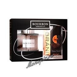 Подарочный набор Bourbon Grand Cru и шоколад Sobranie горький