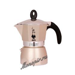 Гейзерная кофеварка Bialetti Dama на 3 порции 120 мл