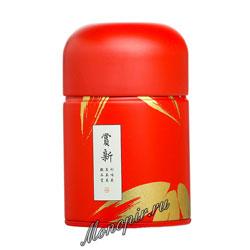 Банка для чая красная 100 гр (JL-088/2)