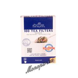 Одноразовые фильтры для чая Finum M отбеленные 100 шт