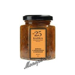 Мармелад Банка. Лаборатория вкуса Фейхоа с апельсином и лимоном 225 гр