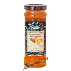 Джем St.Dalfour Ананас и манго 284 гр