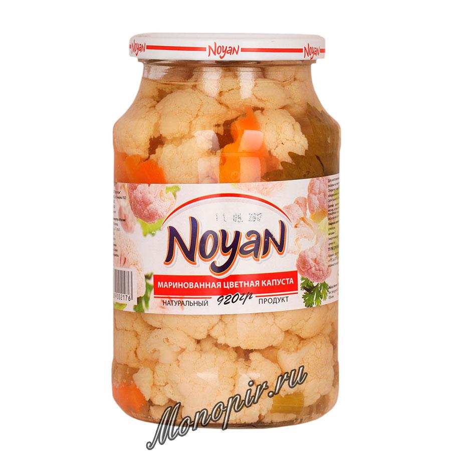 Noyan Маринованная цветная капуста 920 гр