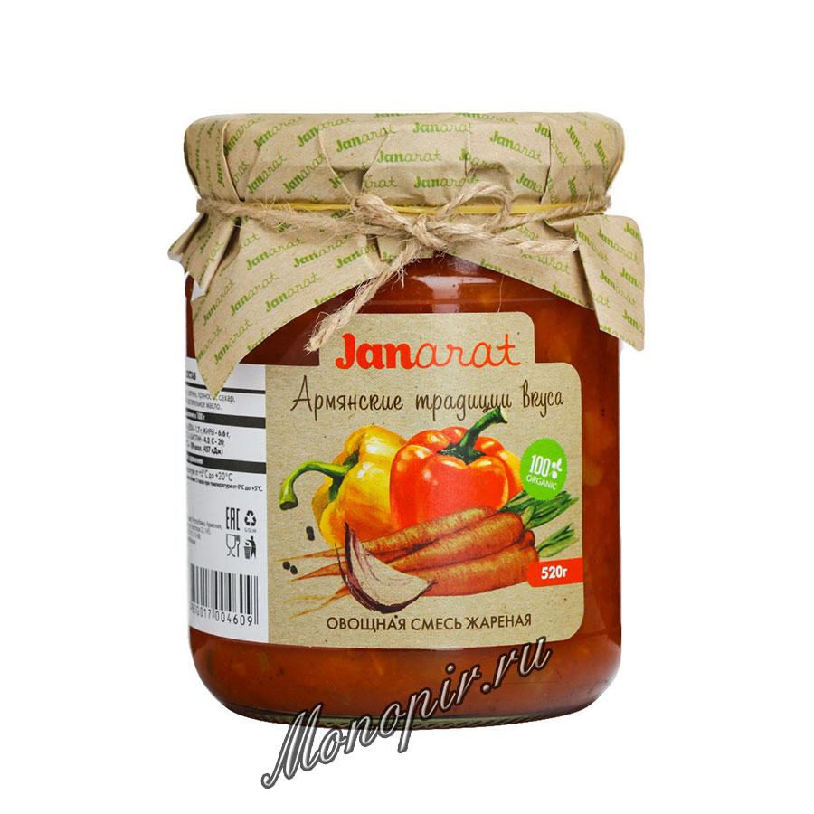 Janarat Овощная Смесь жаренная 520 гр