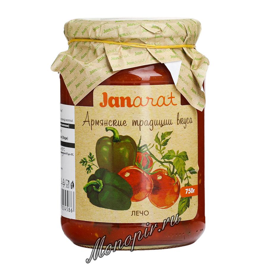 Janarat Лечо 750 гр