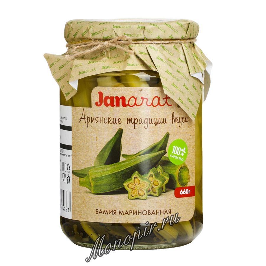 Janarat Бамия маринованная 660 гр