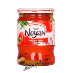 Noyan Маринованный красный перец 560 гр