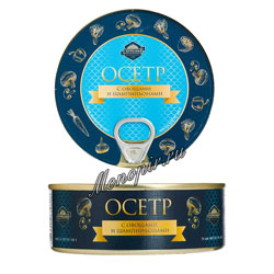 Гурмения Осетр с овощами и шампиньонами 240 гр