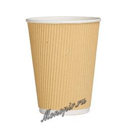 Стакан бумажный Twistcup 300 мл Крафт